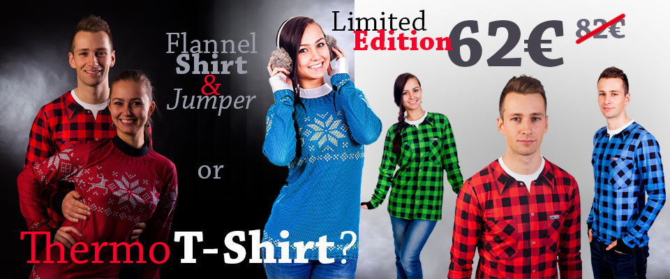 Flannel Shirt and Jumper, Limited Edition