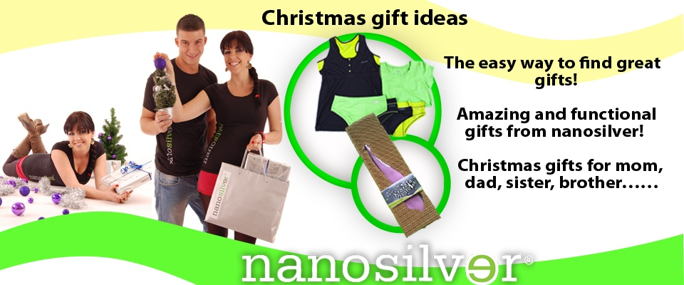 Christmas gift ideas. The easy way to find great gift! Amazing and functional gifts from nanosilver!