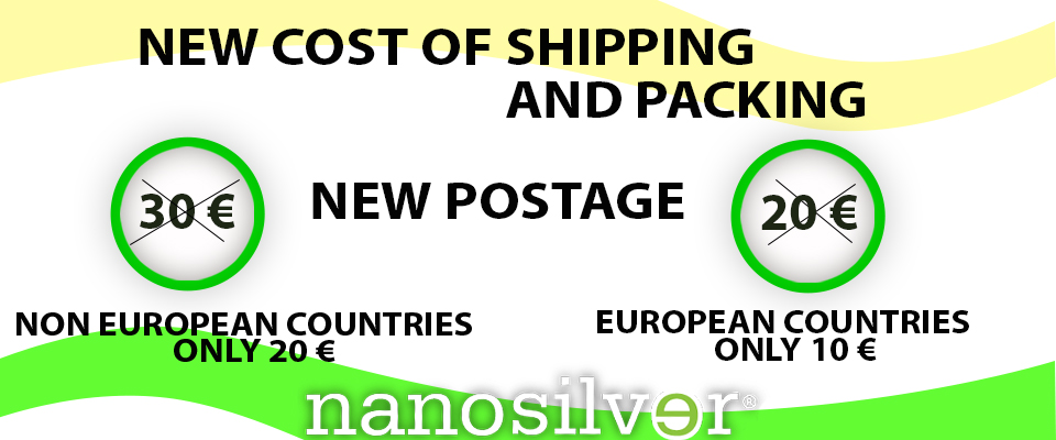 NEW COST OF SHIPPING AND PACKING, NEW POSTAGE