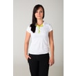 Woman´s POLO SHIRT nanosilver white