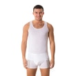 Man's thermal Sleeveless top nanosilver white