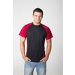 black-red t-shirt nanosilver coolmax DAKAR