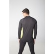 Man's thermal T-shirt nanosilver black/green