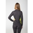 Woman´s thermal T-shirt dark gray/green