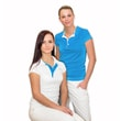 Woman´s POLO SHIRT nanosilver blue
