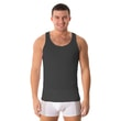 Man's thermal Sleeveless top nanosilver black