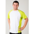 white-green t-shirt nanosilver coolmax DAKAR