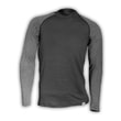 Man's thermal raglan T-shirt  black/grey
