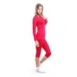 Woman's thermal underpants 3/4 pants nanosilver red