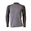 Man's thermal raglan T-shirt  grey/black