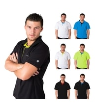 Man's POLO SHIRT, T-shirt with collar nanosilver GOLF ACTIVE