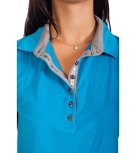 Woman´s POLO SHIRT nanosilver CLASSIC