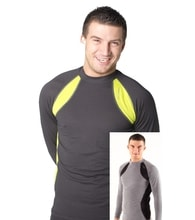 Man's thermal T-shirt nanosilver
