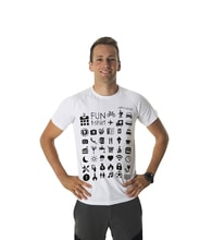 Man´s speaking T-shirt TRAVEL