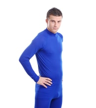 Man's thermal T-shirt nanosilver, BLUE