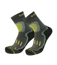 Trekking socks with molecules of silver
