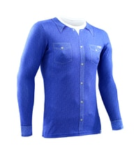 Thermal T-shirt nanosilver - JEANS BLUE
