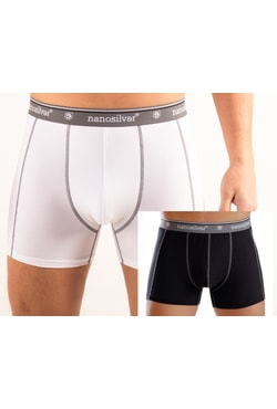 Man's boxer briefs with elastic nanosilver CLASSIC