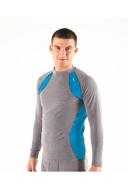 Man's thermal T-shirt nanosilver + wool MERINO