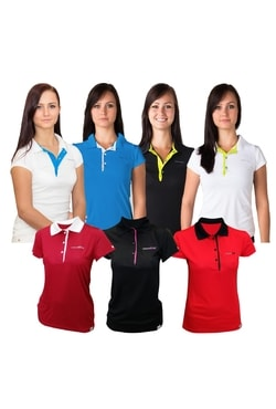 Woman´s POLO SHIRT, T-shirt with collar nanosilver GOLF ACTIVE