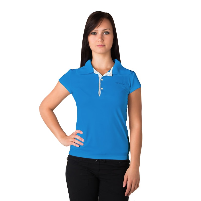 woman s polo shirt t shirt with collar nanosilver golf